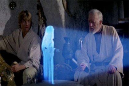 'Star Wars'un hologram teknolojisi gerçeğe dönüşüyor