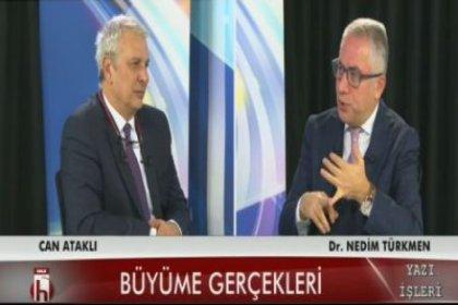Vergi Uzmanı Nedim Türkmen: Üretime yönelik büyüme söz konusu değil, bankalardan alınan paralar harcanarak büyüme yaratıldı