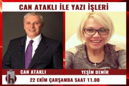 Yazar Yeşim Demir, Can Ataklı'nın konuğu oluyor
