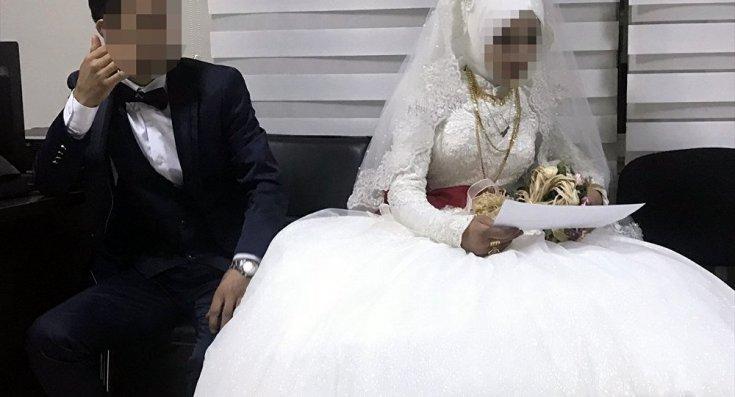 14 yaşındaki kız çocuğu evlendirilmekten son anda kurtarıldı