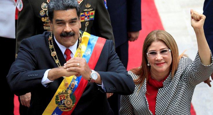 ABD, Maduro'nun eşi ve yakın çevresine yaptırım kararı aldı, Maduro'dan yanıt geldi: Yaptırımlarla çevrelendim
