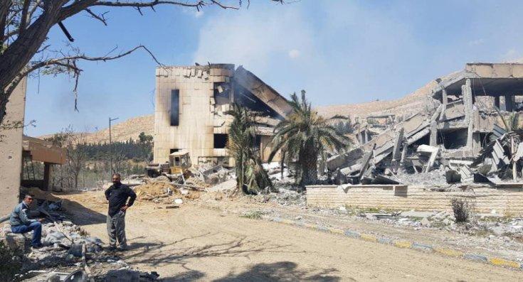 'ABD, Suriye'deki saldırıda kanser ilacı üreten merkezi vurdu'
