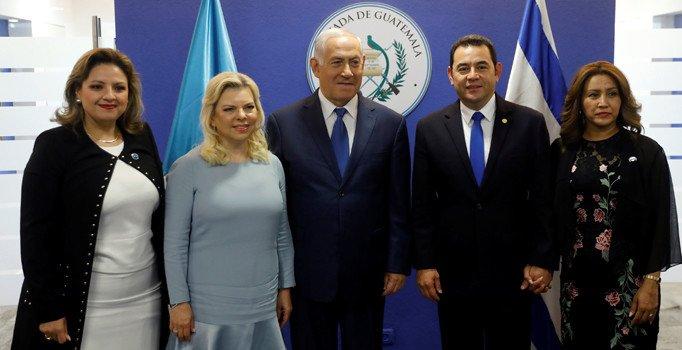 ABD'nin ardından Guatemala da Kudüs'e büyükelçilik açtı