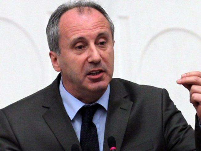 AKP Genel Merkezi'ndeki ekonomi toplantısına Muharrem İnce'den tepki