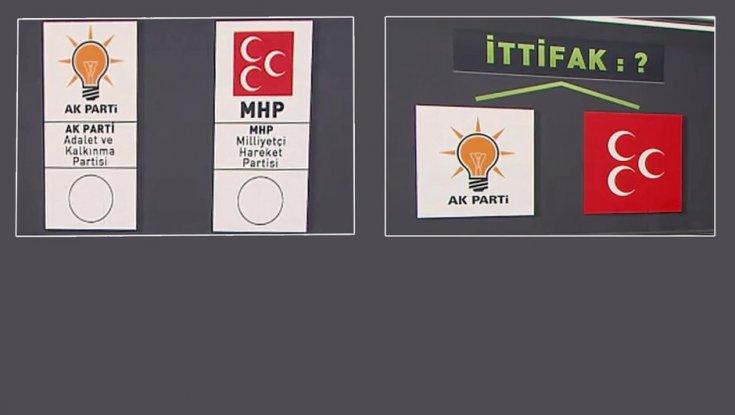AKP-MHP ittifakında masadaki 2 seçenek