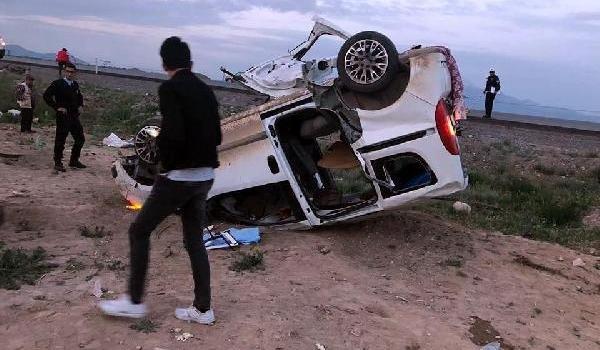AKP mitingi dönüşü kaza: 2 ölü, 6 yaralı
