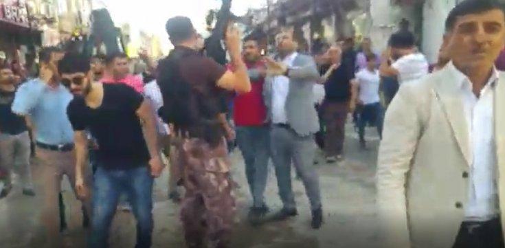 AKP Nusaybin ilçe başkanı askere dayak atıp, polislere saldıran şahısları kurtarmak için karakol bastı!