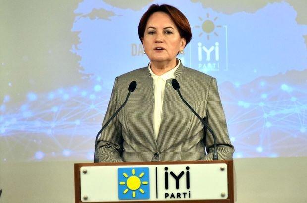 Akşener: AK Parti'ye güvenmeyen yatırımcı, uzun vade de parasını Türkiye'ye getirmek istemiyor