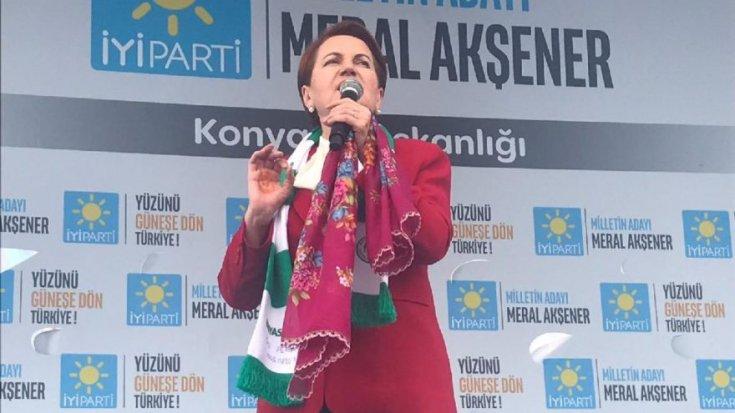 Akşener'den çok sert açıklamalar: Türk ekonomisinin içine tükürdünüz