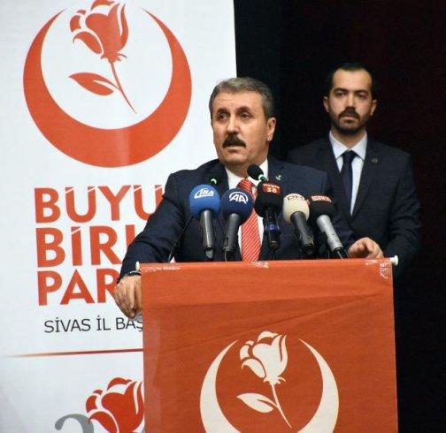 BBP Genel Başkanı Destici'den Afrin açıklaması