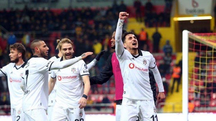 Beşiktaş Ankaragücü deplasmanından 4-1 galip geldi