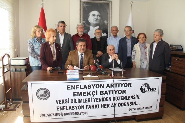 Birleşik Kamu İş Genel Başkanı Mehmet Balık: Siyasal iktidarlar, geçmişte olduğu gibi bu bugünde krizin yükünü emekçilere ödetiyor