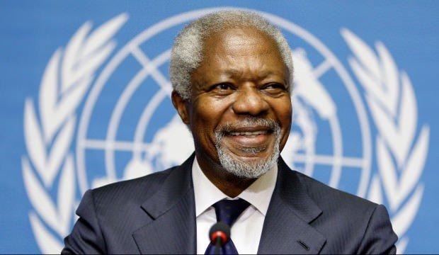 BM'nin eski genel sekreteri Kofi Annan hayatını kaybetti