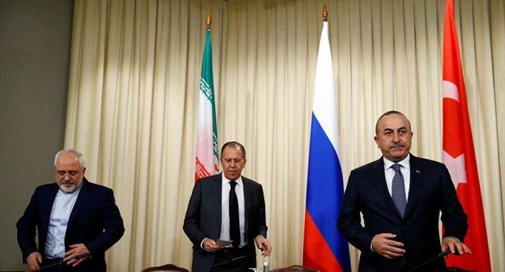 'Çavuşoğlu, Lavrov ve Zarif, gelecek ay Astana'da Suriye'yi konuşacak'