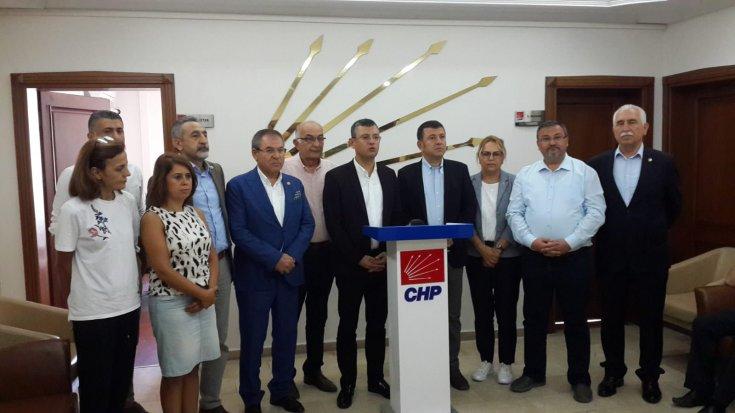 CHP heyeti, sel felaketinin yaşadığı Ordu'da incelemelerde bulundu