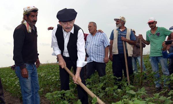 Kılıçdaroğlu, Babaeski'de 'Trakya'da tarımın sorunları ve çözüm önerileri' toplantısına katılacak