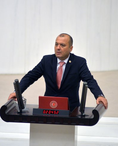 CHP'li Aygun: Türksat A.Ş de TL'ye geçmeli