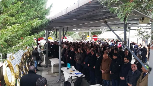 CHP'li Hüsnü Bozkurt'un annesi Fahire Bozkurt son yolculuğuna uğurlandı