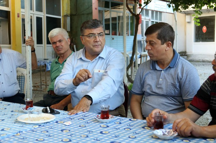 CHP'li Sındır, madencilik tehdidi altındaki Kozak Yaylası'nı ziyeret etti