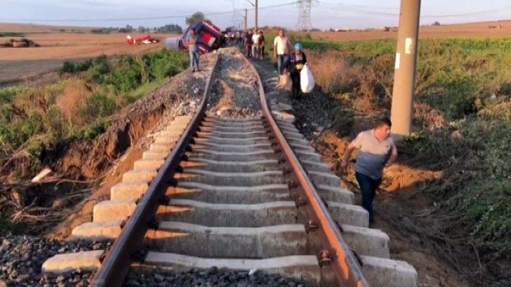 çorludaki Tren Kazasında Hayatını Kaybedenlerin Isimleri Açıklandı