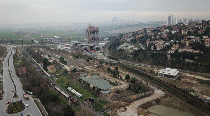 Danıştay'ın durdurma kararına rağmen Başakşehir Gölet'te yapılaşma devam ediyor