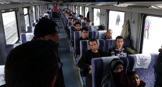 Doğu Ekspresi'nde 48 göçmen daha yakalandı