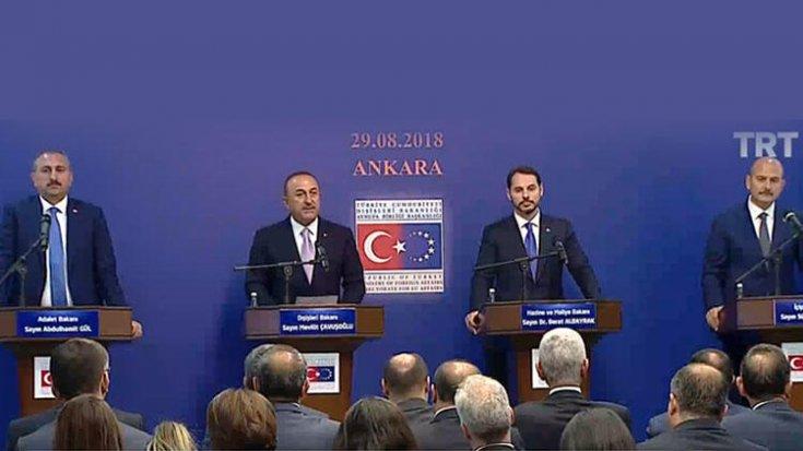 4. Reform Eylem Grubu Toplantısı sonrası 4 bakandan ortak açıklama: Trump, Türkiye ve AB'nin birbirinin değerini anlaması için önemli bir fırsat oldu