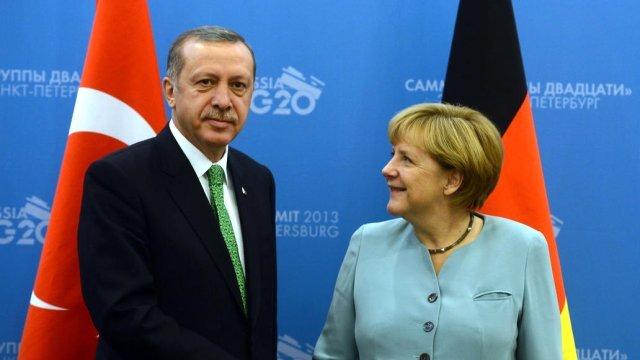 Alman basını: 'Erdoğan, yardım istemeye gelecek'