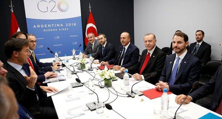 Erdoğan, Hollanda Başbakanı Rutte ile görüştü