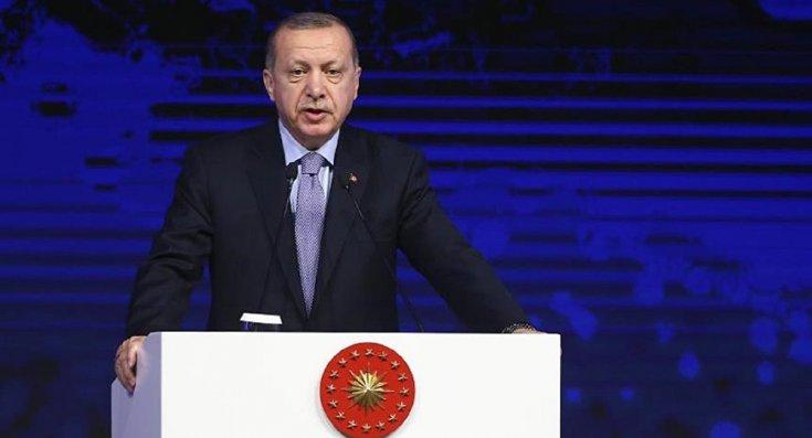 Erdoğan: Konvansiyonel silahlarla ölenleri bir kenara koy sadece kimyasal silahlarla öldürülene bak... Olmaz olsun böyle barış