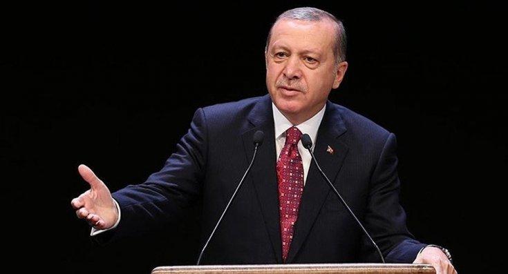 Erdoğan: Sanılmasın ki dikkatimizden kaçıyor, Kıbrıs'ta ve Ege'de haddini aşanları ikaz ediyoruz