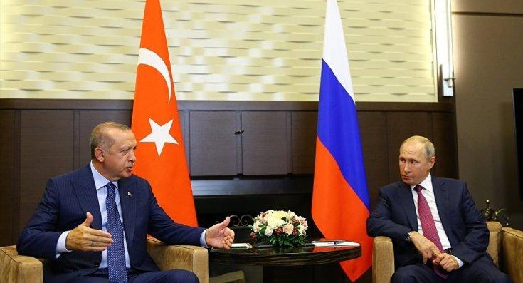 Erdoğan ve Putin'in Soçi'de İdlib'i görüştü