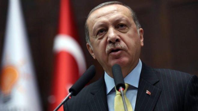 Erdoğan'dan 'Afrin iç siyasete malzeme yapılmasın' diyen İlker Başbuğ'a tepki: Gereken yapılacak!