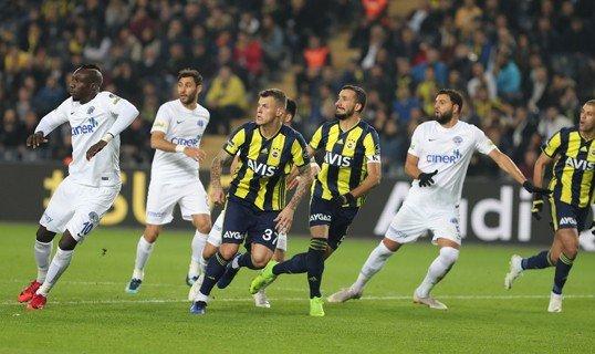 Fenerbahçe 2-2 Kasımpaşa