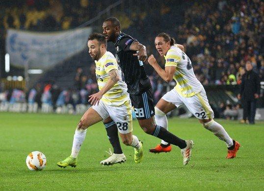 Fenerbahçe UEFA Avrupa Ligi'nde bir üst tura yükseldi