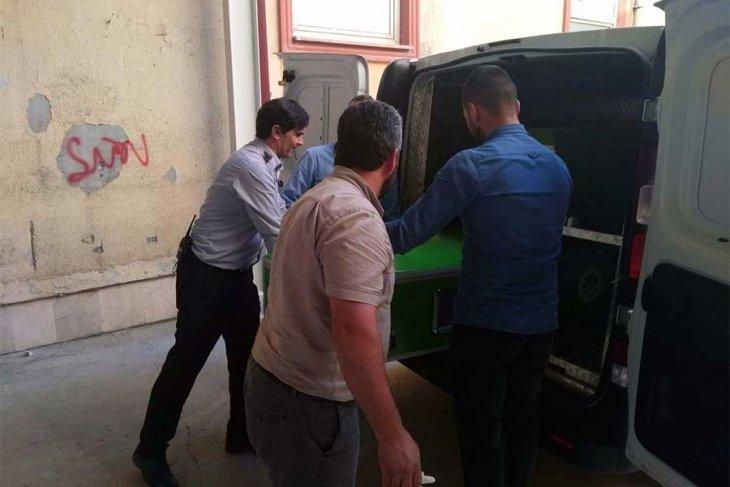 Forkliftten devrilen yükün altında kalan Afgan işçi öldü