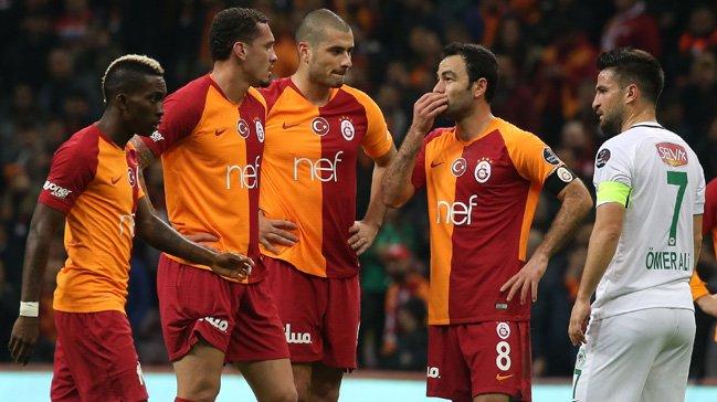 Galasaray Atiker Konyaspor ile 1-1 berabere kaldı