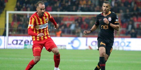Galatasaray, Kayserispor'u 3-0 yendi