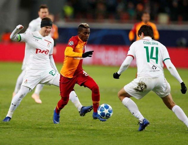 Galatasaray, Lokomotiv Moskova'ya 2-0 yenildi