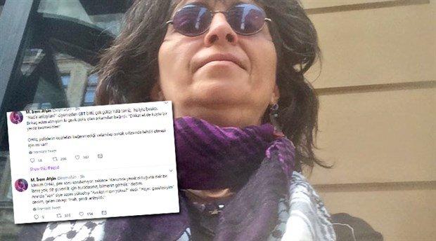 GBT yapan polisten gazeteciye: Kıyafetiniz sakıncalı