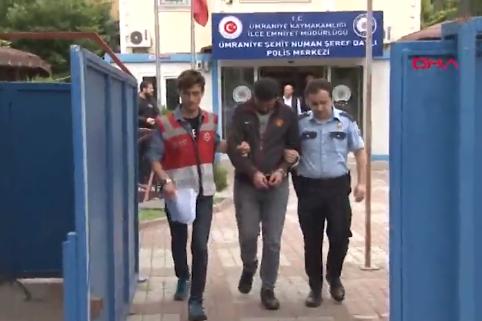 Genç kadını taksiden aşağı atan taksi şoförü tutuklandı