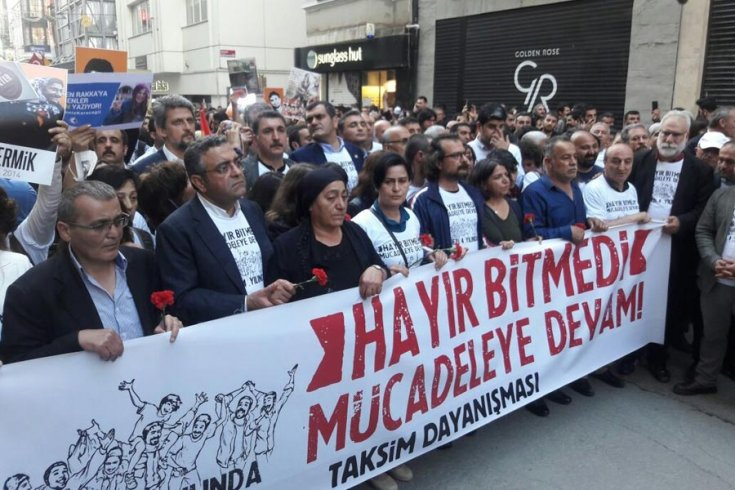 Gezi'nin birinci yıl dönümü eylemi davasında karar açıklandı