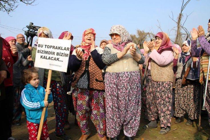 Halkın direnişi geri adım attırdı: Jandarma ve şirket Kızılcaköy'den çekildi