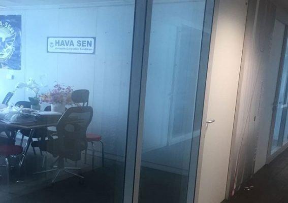 Hava Sen'in ofisi TAV tarafından kapatıldı