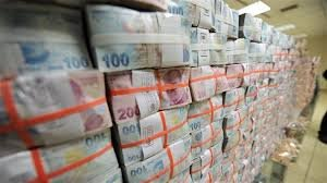 Hazine 1 milyar 952,7 milyon lira borçlandı