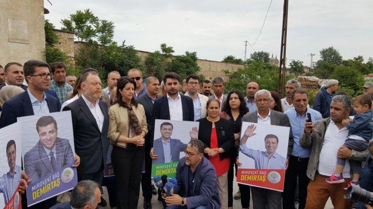 HDP seçim startını Edirne'den verdi