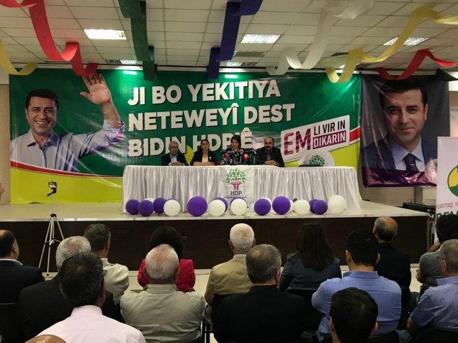HDP'den 'Kürt Sorununa Çözüm Deklarasyonu'
