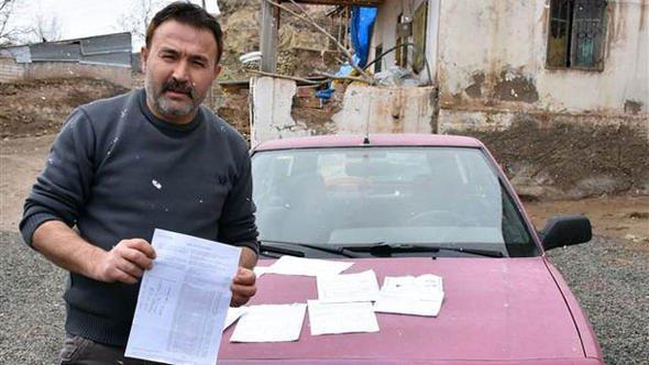 Hiç gitmediği İstanbul'da plakasına 48 kez ceza kesildi