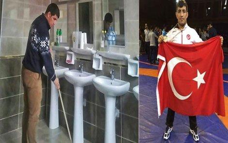 İşitme engelli Milli güreşçi Seyfullah Karadeniz, Milli Takıma 'PASPAS İLE' hazırlanıyor