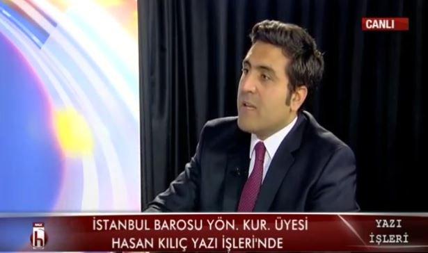 İstanbul Barosu Yönetim Kurulu Üyesi Hasan Kılıç: Kenan Evren de 12 Eylül'de baronun kapısına mühür vurdu